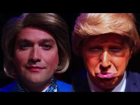 Trump v. Clinton 1st Presidential Debate Highlights - Hofstra on CNN 9/26/16 (Predictions/Comedy)