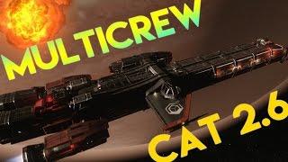 Star Citizen Alpha 2.6 | MULTICREW CATERPILLAR | Part 309 (Star Citizen 2016 PC Gameplay)