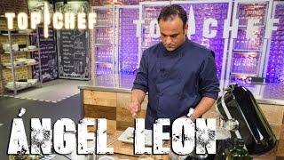 Gambar cover Ángel León vuelve a las cocinas de Top Chef con su cocina de vanguardia
