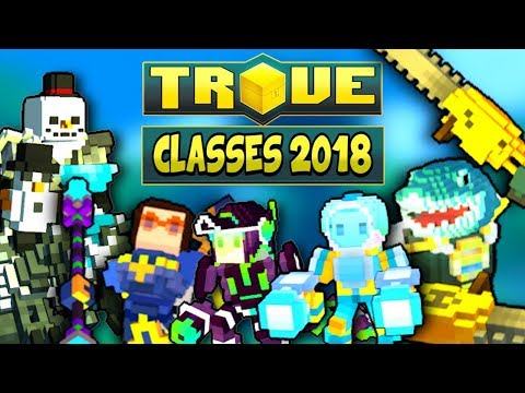"""HOW TO """"BUILD"""" ALL CLASSES FOR U9 & ULTRA SHADOW TOWERS ✪ Trove Guide / Tutorial 2018"""