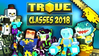 HOW TO BUILD ALL CLASSES FOR U9 & ULTRA SHADOW TOWERS ✪ Trove Guide / Tutorial 2018