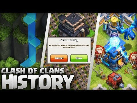 The History Of Clash Of Clans (2012 -2018) 6 Year Anniversary Special!