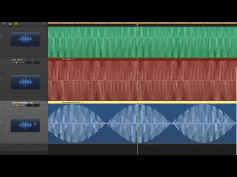 Concept of Acoustic Beating and Phase Cancellation with Sine Waves
