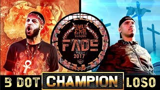 CHAMPION | B DOT VS LOSO - BULLPEN