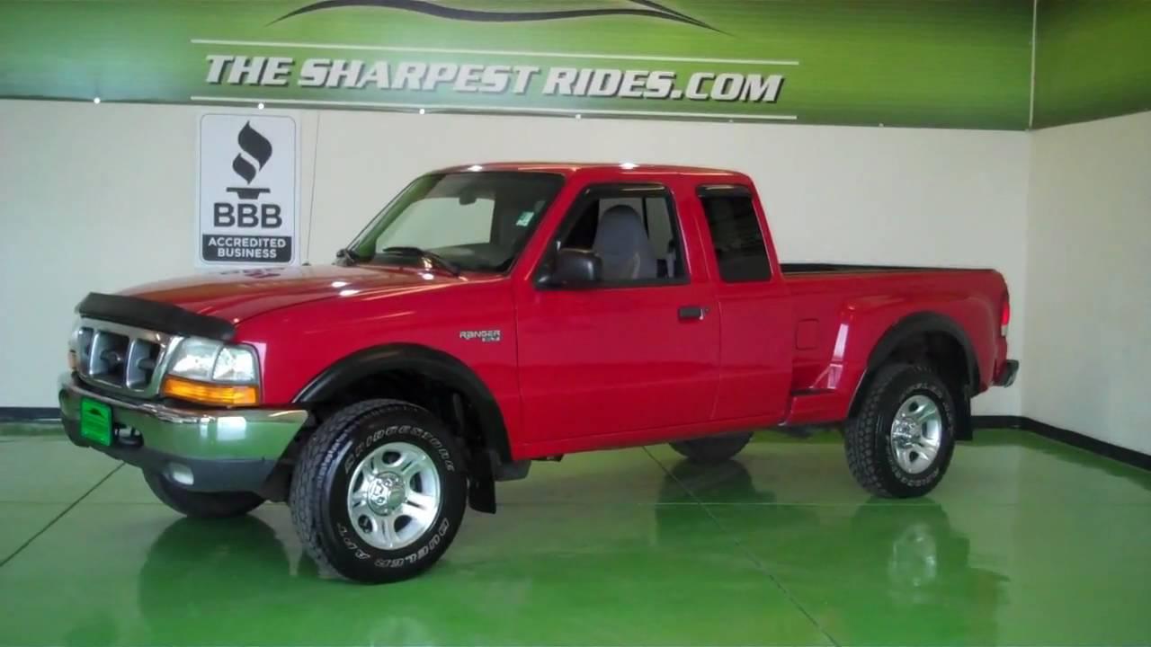 2000 Ford Ranger Xlt 4x4 3 0 S4461 Youtube