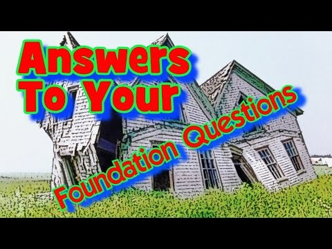 How To Repair Your House Foundation For Good!