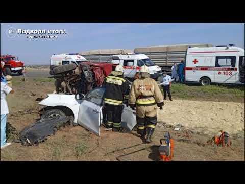 19.08.2021г - В Калмыкии пять человек погибли в результате ДТП с грузовиком.