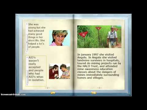 Princess Diana- Charity