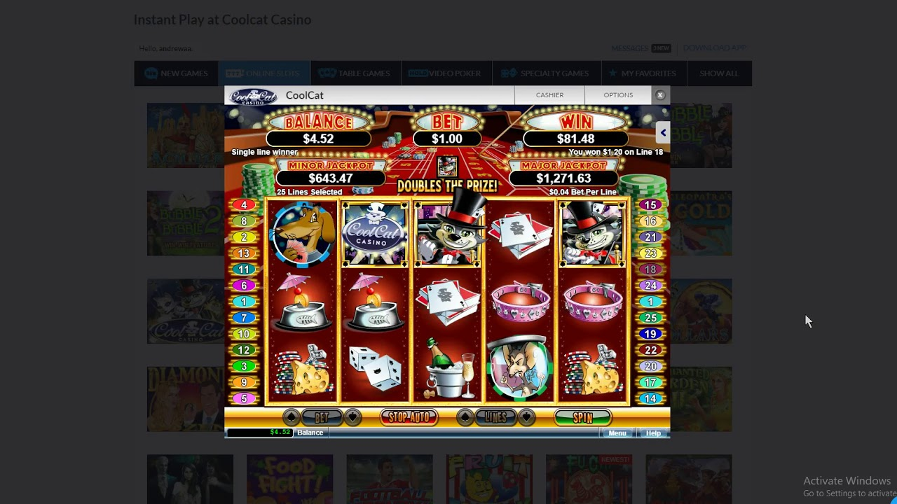 Cool Cat Casino 105 Free Chip Works Today Youtube
