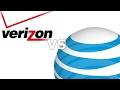 Verizon vs at&t (LTE advanced speedtest ) part 2