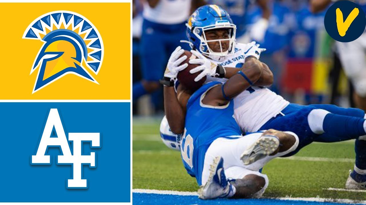 San Jose State vs Air Force | Week 5 | College Football Highlights | 2019
