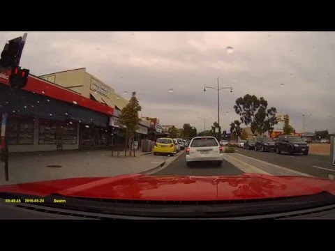 Swann Navigator HD Dashcam Footage From The 2016 Ford Mustang