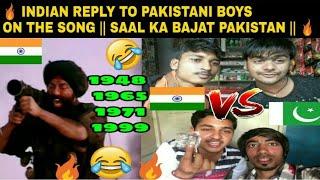 Best INDIAN Reply to Pakistani boys on the song|Jitna Ha Saal Ka Bajat Tera Pakistan| VJ Pawan Singh
