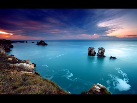 Reiki Music. Ocean. HD Video