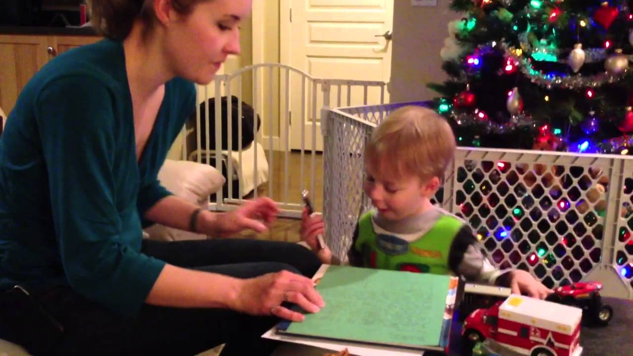 Riley's first letter to Santa Clause - YouTube