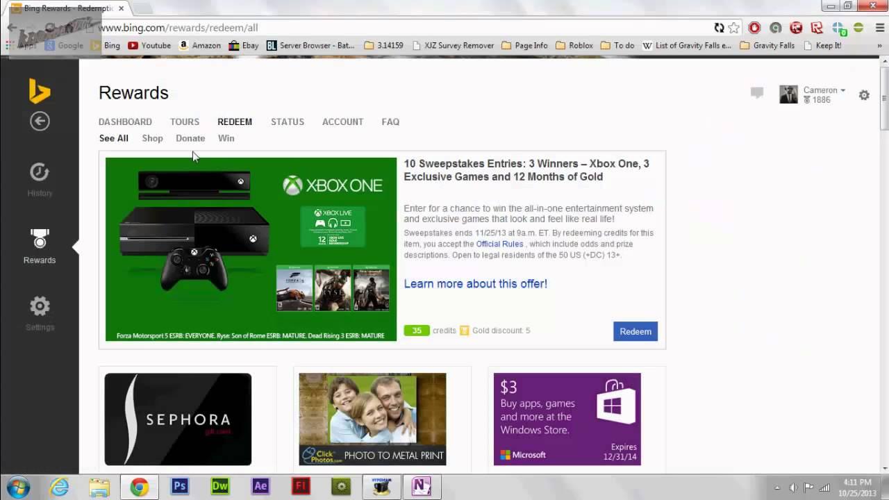 Robloxhax Redeem Free Robux Or Bc July 2017 Microsoft Rewards