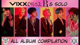 VIXX (빅스). All vixx, LR and Solo albums.