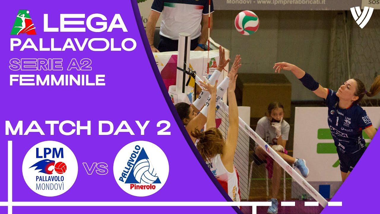 Mondovi vs. Pinerolo - Full Match | Women's Serie A2 | 2021