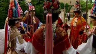 Spring procession of Ljelje/Kraljice (queens) from Gorjani