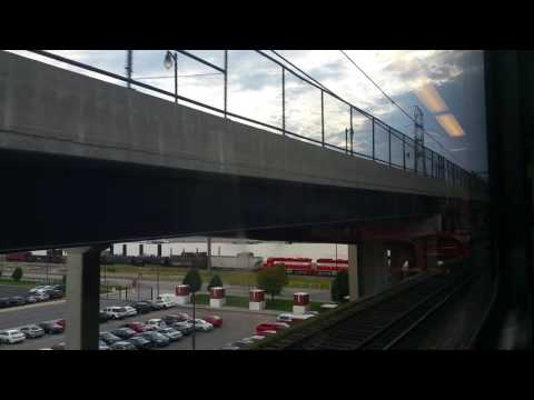 Arriving East Riverfront Station