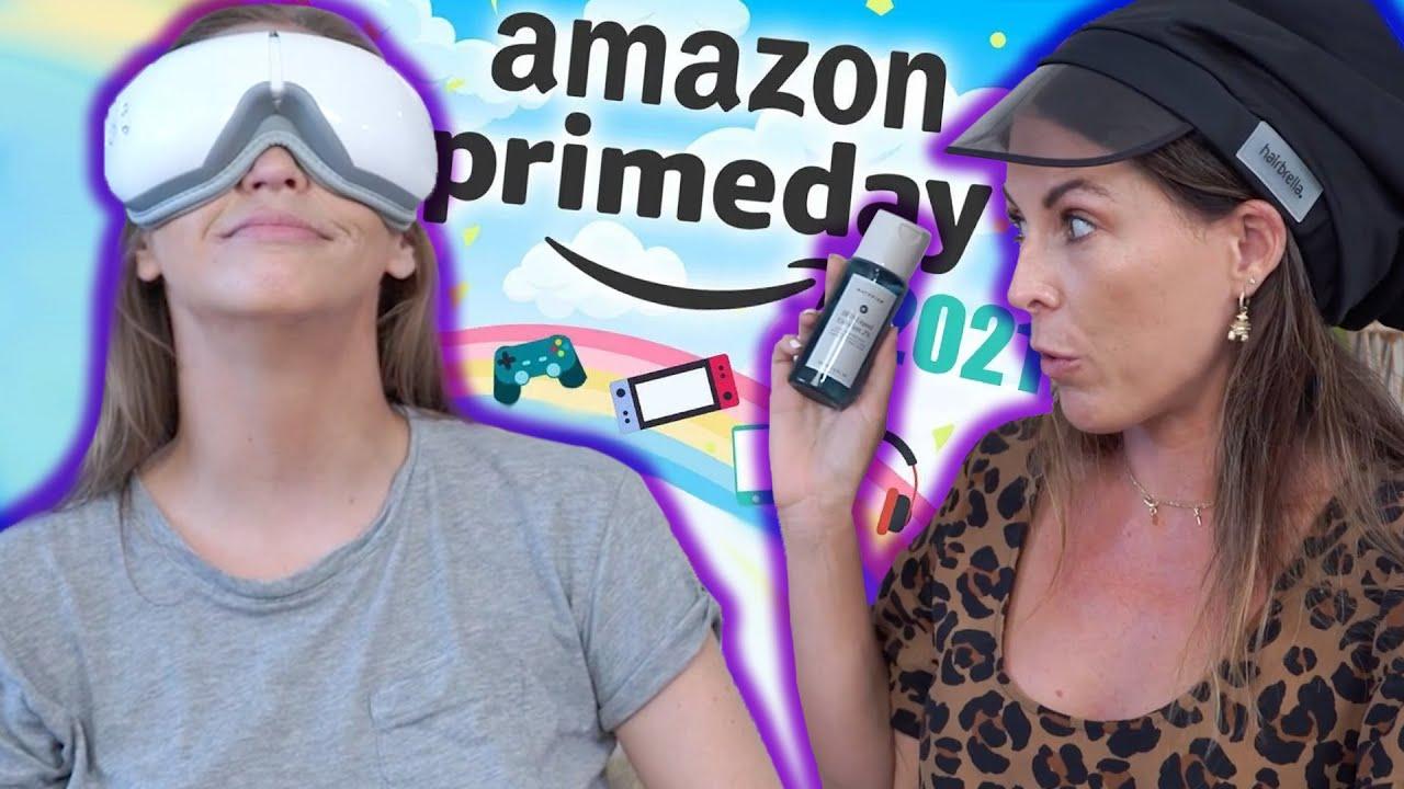 Trying Random Stuff We Bought on Amazon PRIME DAY
