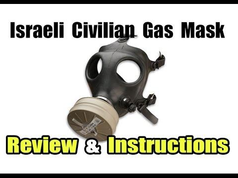 Israeli Civilian Gas Mask Review \u0026 Instructions
