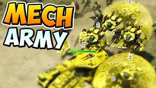 THE MECH ARMY!!! - Halo Wars 2 || Blitz BETA - First Impressions