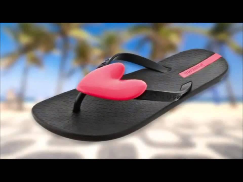 17aaaaabc Ipanema Flip Flops - YouTube