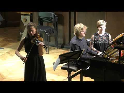Schubert: Violin Sonata in A major D 574 - Maryana Osipova & Dmitry Ablogin (Moscow 2018, live)