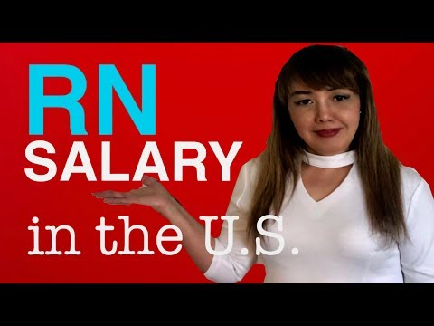 NURSE SALARY IN THE U.S. / REGISTERED NURSE SALARY AVERAGES -UPDATED 2019