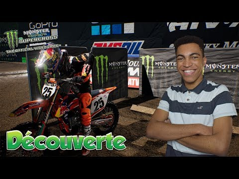 Monster Energy Supercross The Official Videogame | Découverte ! | Gameplay FR