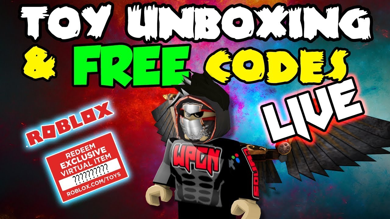 Free Codes For Subscribers Roblox Live Stream Youtube