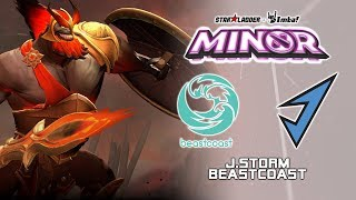 J.Storm vs beastcoast  | StarLadder ImbaTV Dota 2 Minor Season 2