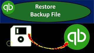 Restore QuickBooks Backup File u