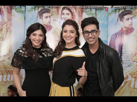 Anushka Sharma, Suraj Sharma, Mehreen  MissMalini   Phillauri  Diljit Dosanjh