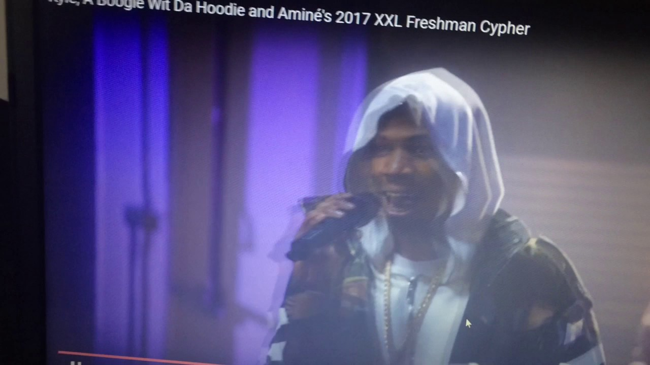 Kyle A Boogie Wit Da Hoodie Amines  Xxl Freshman Cypher Reaction