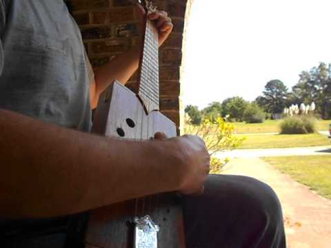 Banjo tunings for a cigar box guitar  (Starr Cigar Box Guitars)