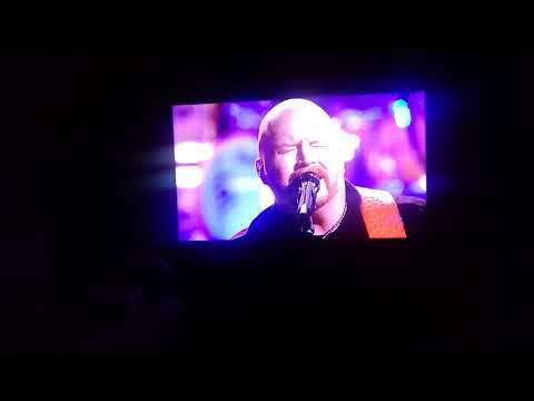 Sitting here catching up on The Voice performance by red Marrow chiseled in stone