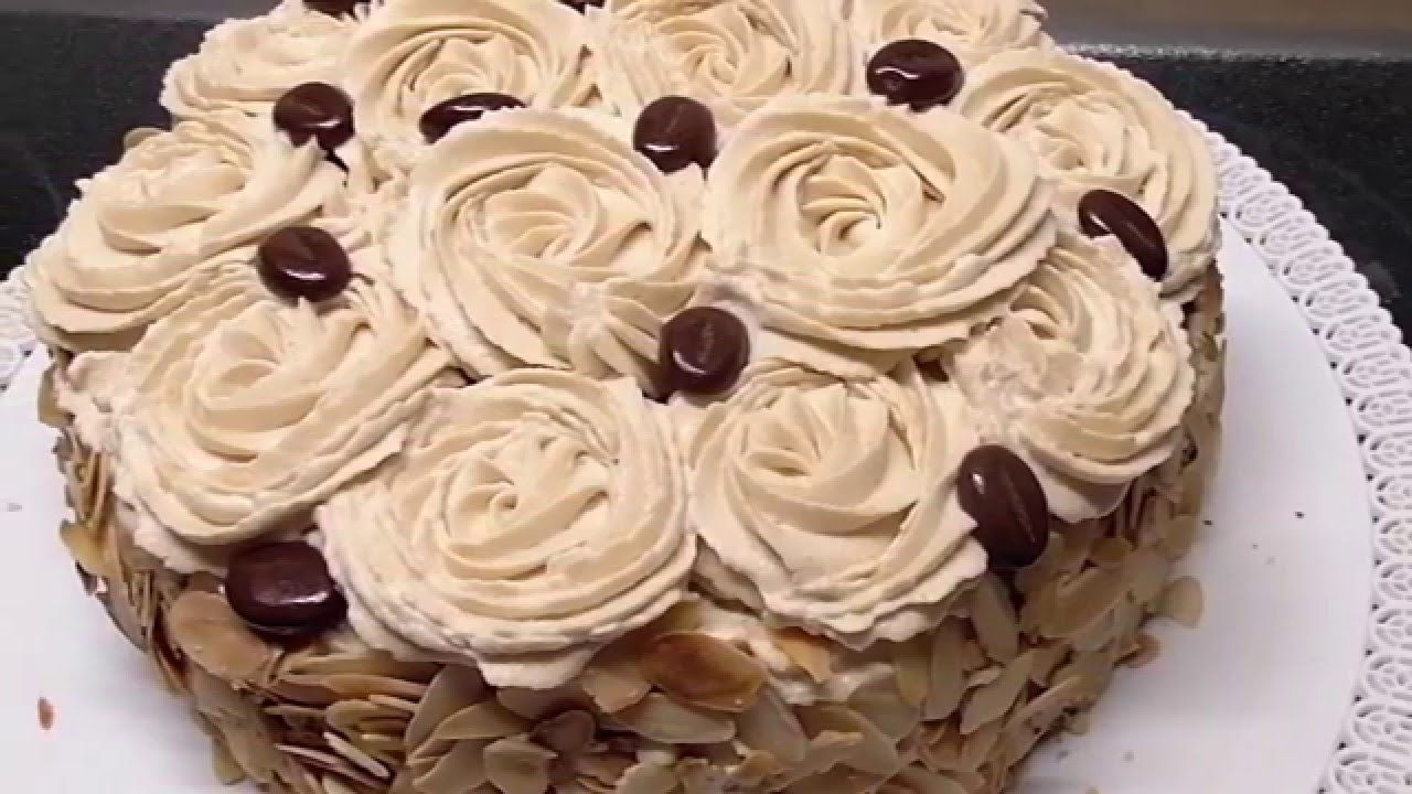 Tort Kawowy Na Dzien Babci I Dziadka Urodzinowy Tort Kasia Ze Slaska Gotuje