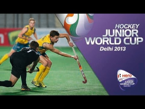Australia vs New Zealand - Men's Hero Hockey Junior World Cup India 5th/8th Place [13/12/2013]