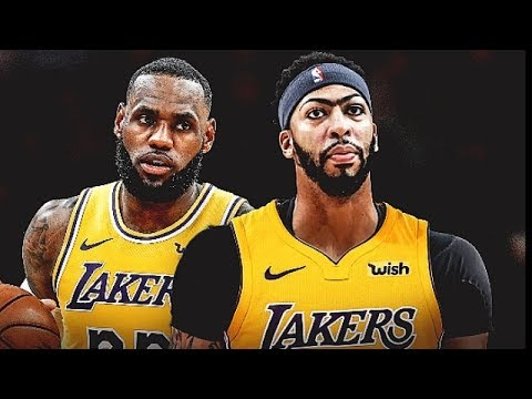 innovative design 4f734 e04e4 LeBron James Gives Anthony Davis His Jersey Number & Lakers Trade Players  To Wizards!