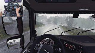 Logs Delivery | Euro Truck Simulator 2 | Logitech g29 gameplay screenshot 3