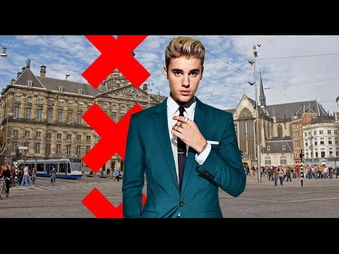 Penthouse Justin Bieber on Dam Square in Amsterdam ?