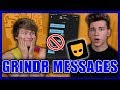GAY GUYS READ THEIR GRINDR MESSAGES pt. 2!!! | Austin and Patrick