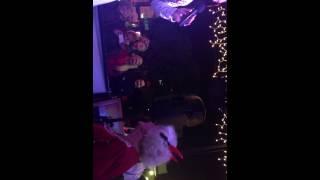 Elvis Impersonator Singing Devil in Descuise plus Funny Grandma