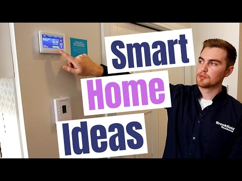 Smart home ideas when buying a new construction home