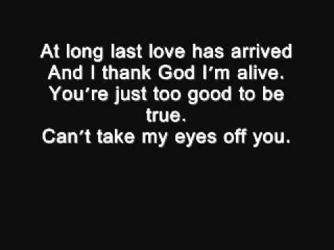 I love you baby - Frank Sinatra lyrics.wmv