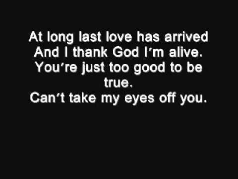 I love you baby - Frank Sinatra lyrics.wmv - YouTube