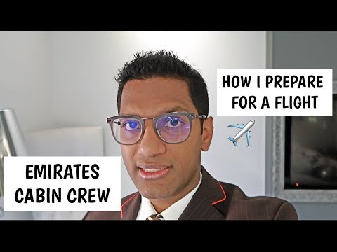A day in the life of an Emirates Cabin Crew
