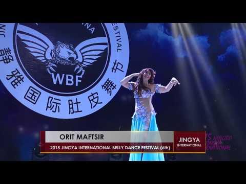 Orit Maftsir:2015 Jingya international Bellydance festival Ningbo China